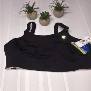 NWT Champion black 44DDD power sleek bra.